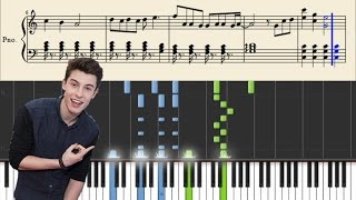 Shawn Mendes - Treat You Better - Piano Tutorial + Sheets