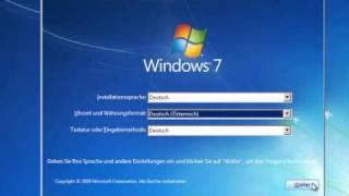 Windows 7 Installieren für Einsteiger
