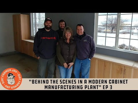 """Behind The Scenes In A Modern Cabinet Manufacturing Plant"" Ep 3"