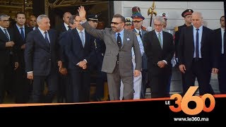 Le360.ma •vidéo:Le Roi Mohammed VI inaugure l'usine PSA de Kénitra