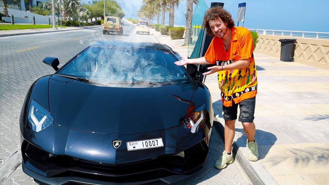 Me dieron un Lamborghini defectuoso y casi se quema su motor... 🔥