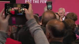 Jeremy Corbyn and John McDonnell speak on Labour's plan for the economy – watch live