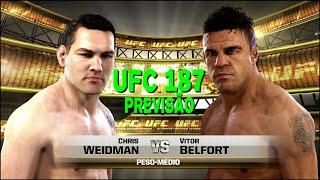 UFC 187 PREVISÃO - LIVESTREAM FULL HD - EM PT-BR