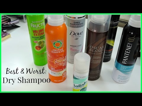 BEST & WORST Dry Shampoos