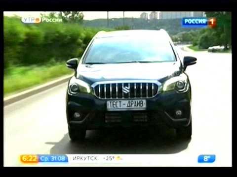 Suzuki SX4.Видео обзор.Тест драйв.