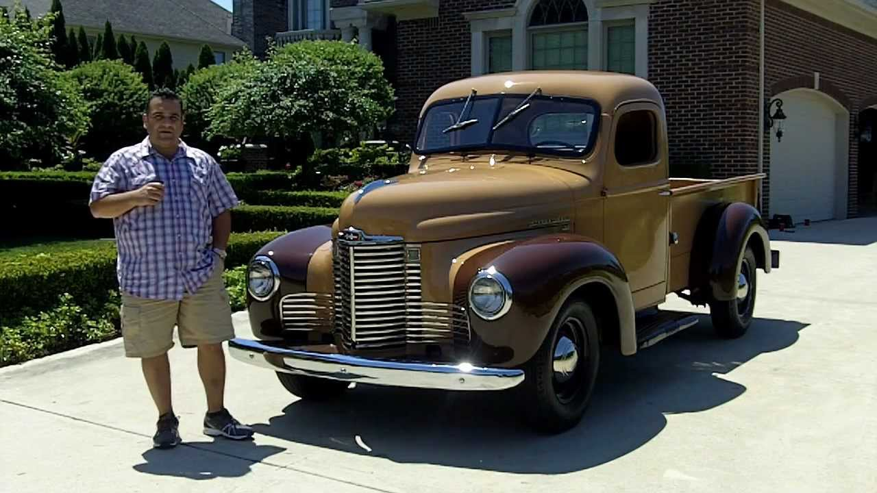 1949 International Kb 2 3 4 Ton Pickup Classic Muscle Car