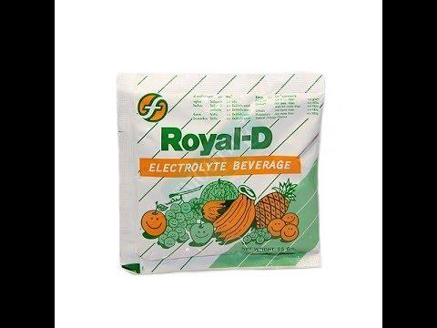 Порошок для приготовления электролитного напитка Royal-D / Royal-D Electrolyte beverege 25g