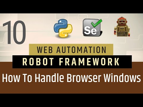 Part10-Browser related Keywords | Robot Framework | Go To |  Go Back | Get Location thumbnail