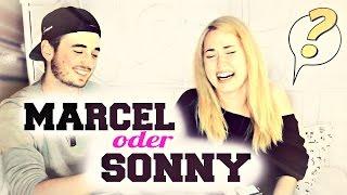 WER WÜRDE EHER ..? mit MARCEL ♥ | Sonny Loops