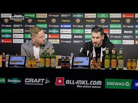 26. Spieltag | SGD - FCM | Pressekonferenz vor dem Spiel