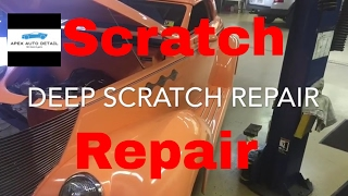 Tips and Tricks on how to repair deep scratches: Wet sand, Compound Polish, Protect.(Start 2 Finish)