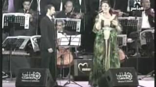 كاظم الساهر + أسماء المنور - المحكمة - موازين 2011
