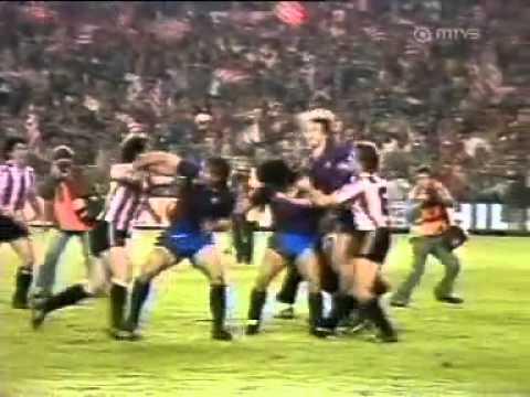 Maradona vs. Atletico Madrid Fight