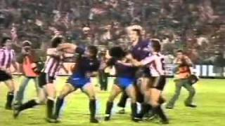 Maradona vs. Atletico Madrid Fight