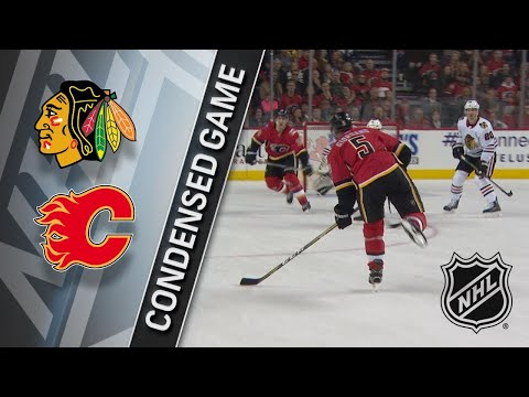 12/31/17 Condensed Game: Blackhawks @ Flames
