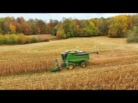 Jamie Elliott Harvesting Corn......dji Phantom 3 Pro, 4K video
