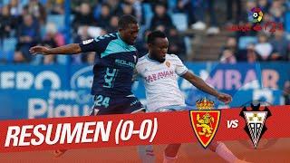 Resumen de Real Zaragoza vs Albacete BP (0-0)