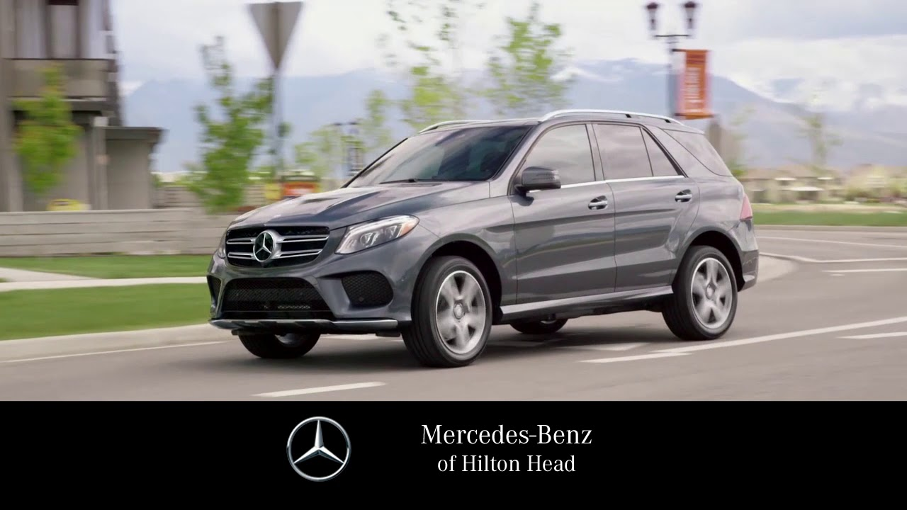 The 2018 GLE 350 At Mercedes Benz Of Hilton Head!