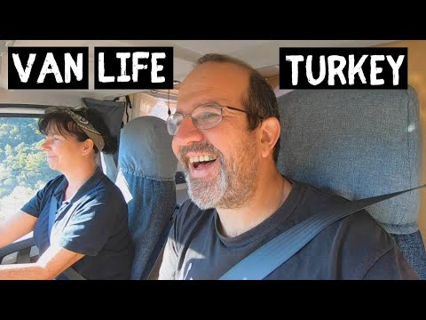 TURKEY VAN LIFE Adventures - into the mountains we go | ŞİRİNCE KÖYÜ Mountain Village Life