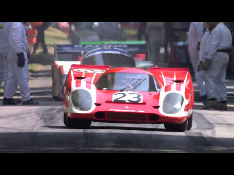 Porsche 917k - Goodwood Festival of Speed 2013