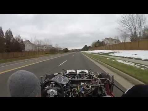 Factory Five 818 Kit Car Go-Kart drive