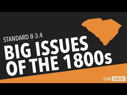 Big Issues of the 1800s (8-3.4)