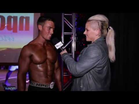 2017 NPC Natural Indianapolis Overall Men's Physique Chase Kaufman