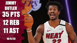 Jimmy Butler puts up another triple-double to keep Heat alive in Game 5 vs. Lakers | 2020 NBA Finals