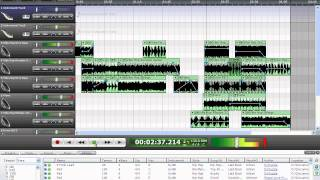 Acoustica Mixcraft 5 My first song