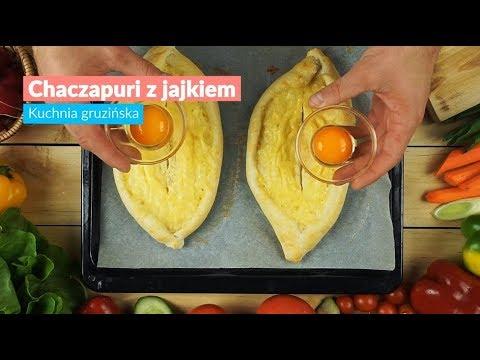 Chaczapuri Z Jajkiem Kuchnia Gruzinska