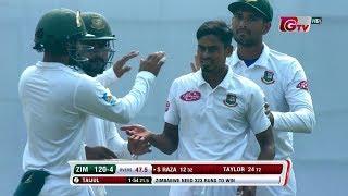 Zimbabwe's All Wickets Against Bangladesh | 2nd Test | 2nd Innings |Zimbabwe tour of Bangladesh 2018