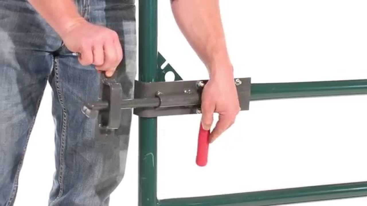 how to fix a gate latch