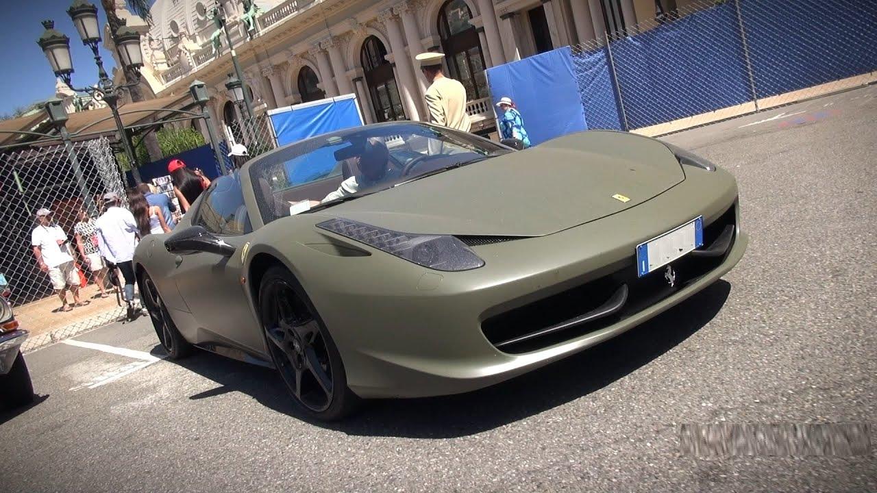Army Green Ferrari 458 Youtube
