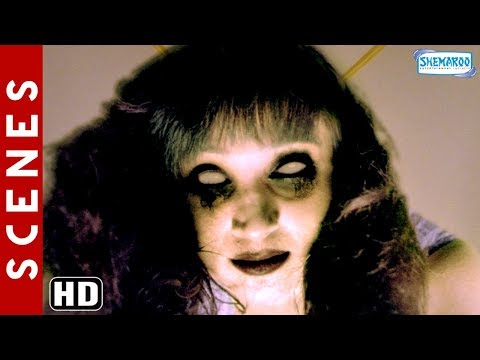 Mallika [2010] Movie Horror Scenes [HD] Hindi Horror Movie - Sheena Nayar -  Himanshu Malik