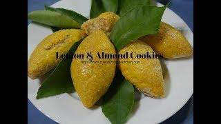 Lemon & Almond cookies