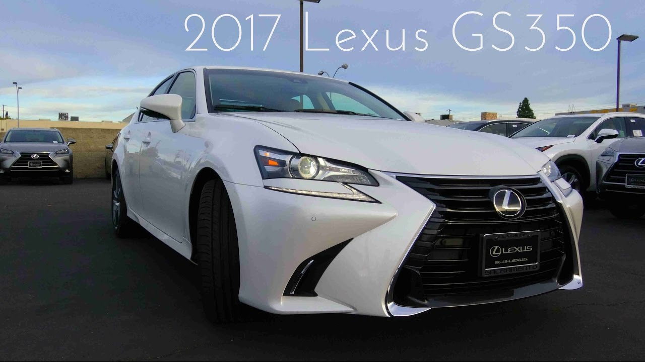 2017 Lexus Gs350 3 5 L V6 Review