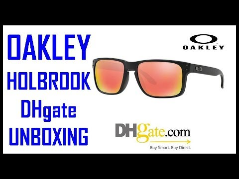 926cb0d018d Oakley Sunglasses replica DHgate unbox - YouTube