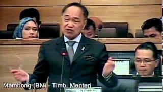 [24.3.14] Kementerian Sumber Asli dan Alam Sekitar | Parlimen | Pergulungan