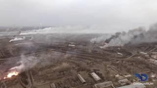 Балаклея. Горит крупнейший в Украине арсенал. thumbnail