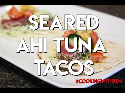 02. Seared Ahi Tuna Tacos