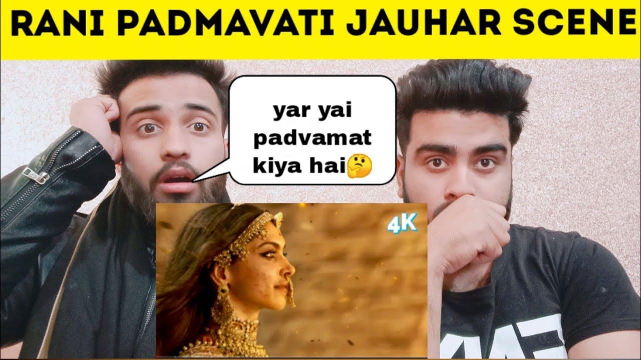 Download Pakistani Reaction on Padmaavat Climax Scene Rajput Women Jauhar Scene By | Pakistani Bros |