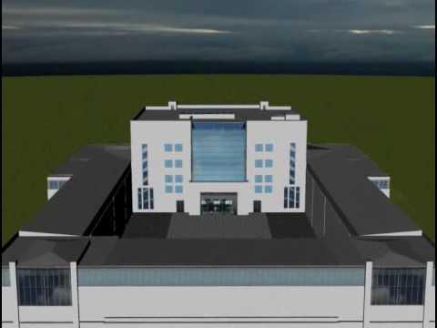 3D Modell des Hygiene-Museums Dresden