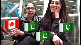 Travel Vlog | Canada to Pakistan | Part 1