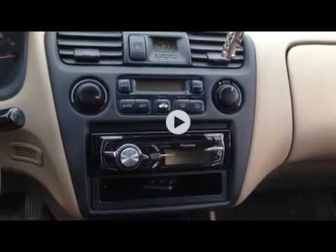 99 02 Honda Accord Replacing Dash Light Bulbs Youtube