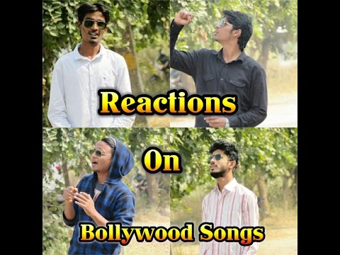 Reactions On bollywood songs|funny comedy|Jagtial diaries|
