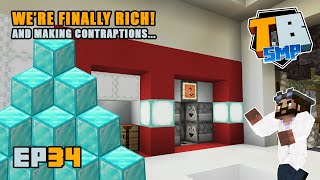 FIREWORK DISPENSER and HUGE profits! | Truly Bedrock Season 2 [34] Minecraft Bedrock SMP