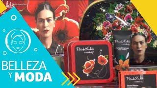 Lanzan nueva línea de maquillaje inspirada en Frida Kahlo | Un Nuevo Día | Telemundo