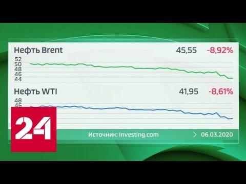 Бушует море нефти, шторм рождая: в ОПЕК+ сезон ураганов - Россия 24