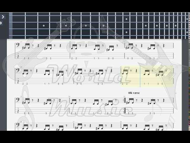 Green Day Brain Stew BASS GUITAR TAB Chords - Chordify
