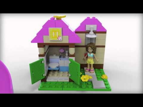 Lego Friends 41008 Heartlake City Pool Lego 3d Review Youtube